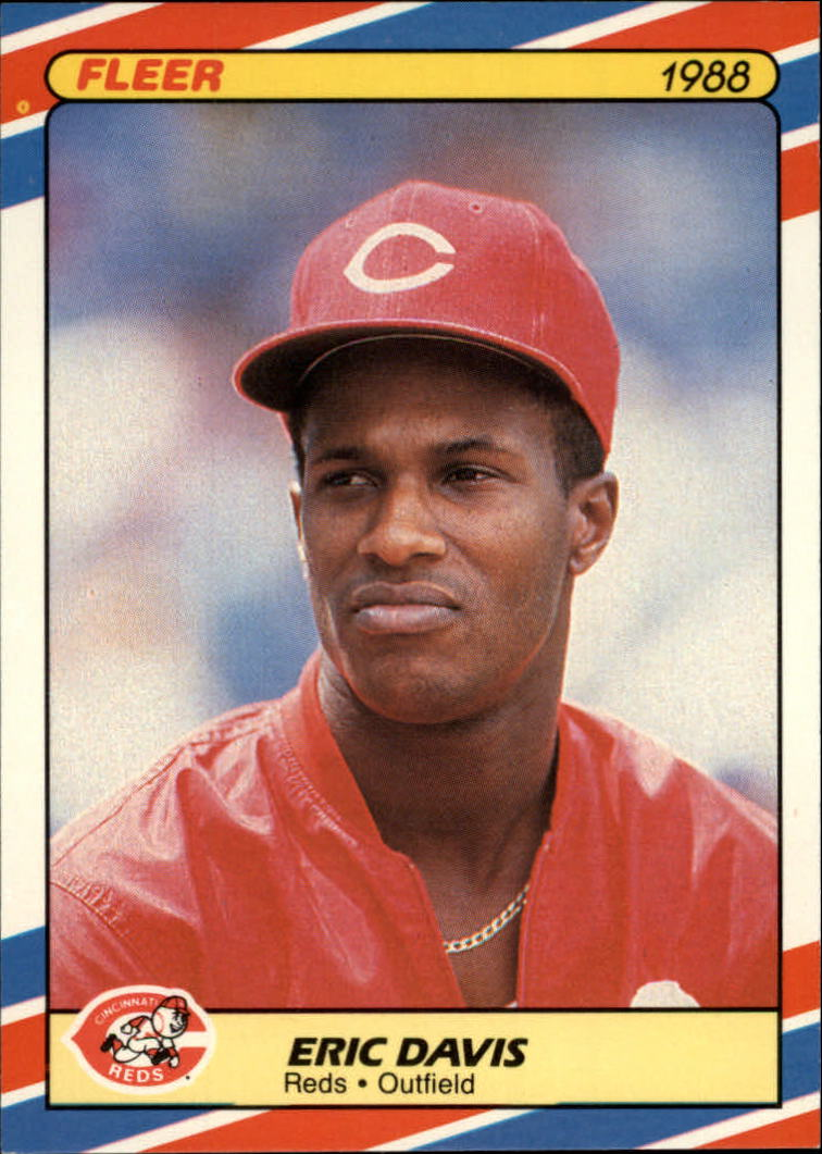 1988 Fleer Superstars #11 Eric Davis