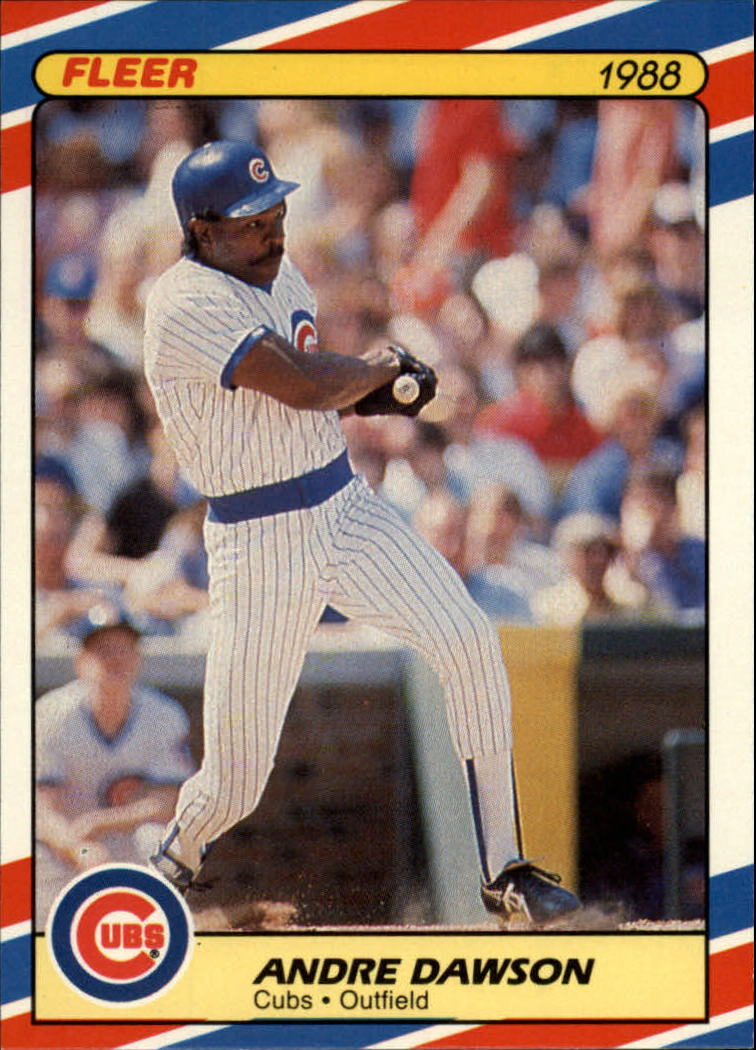 1988 Fleer Superstars #13 Andre Dawson