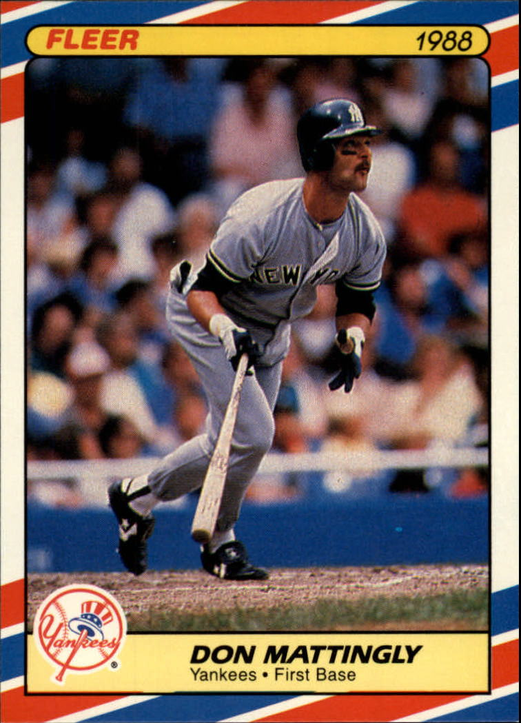 1988 Fleer Superstars #22 Don Mattingly