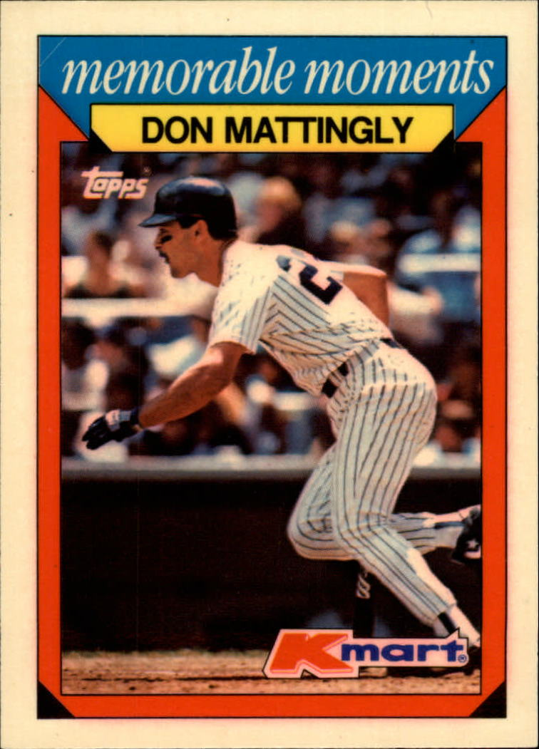 1988 K-Mart #15 Don Mattingly