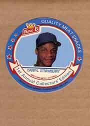 1988 King-B Discs #8 Darryl Strawberry