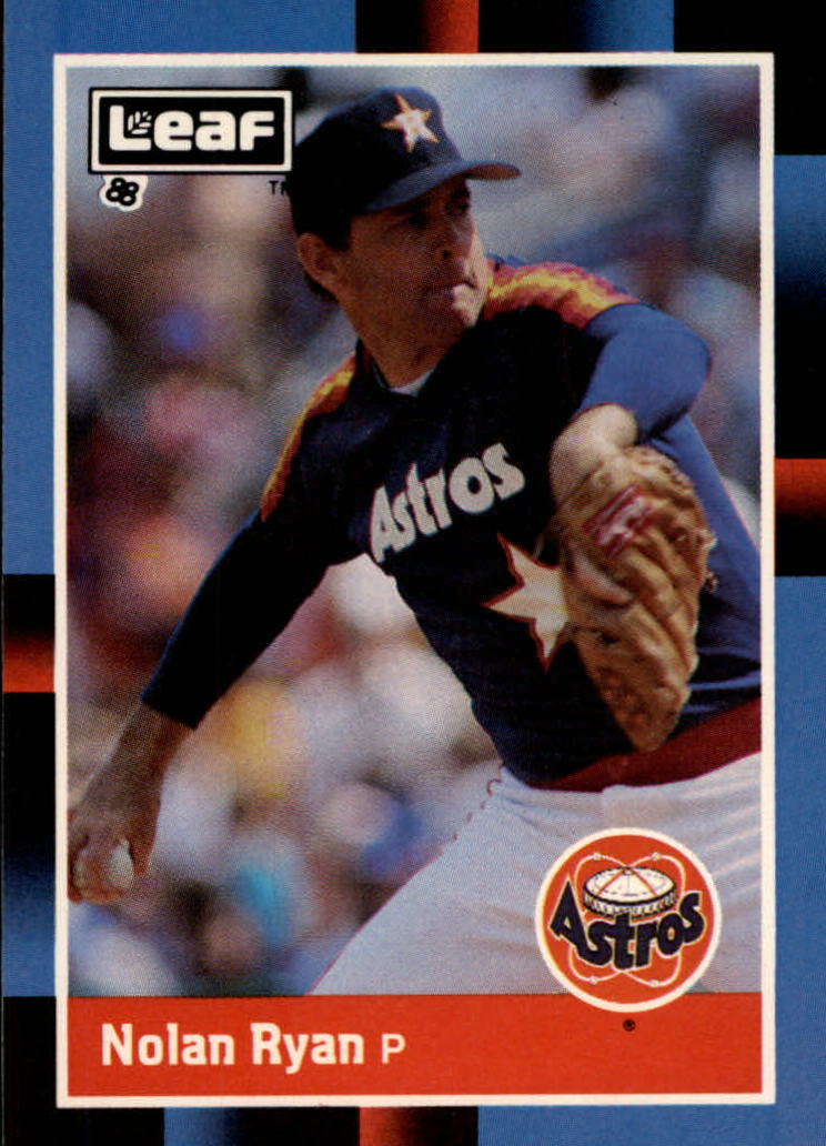 1988 Leaf/Donruss #77 Nolan Ryan