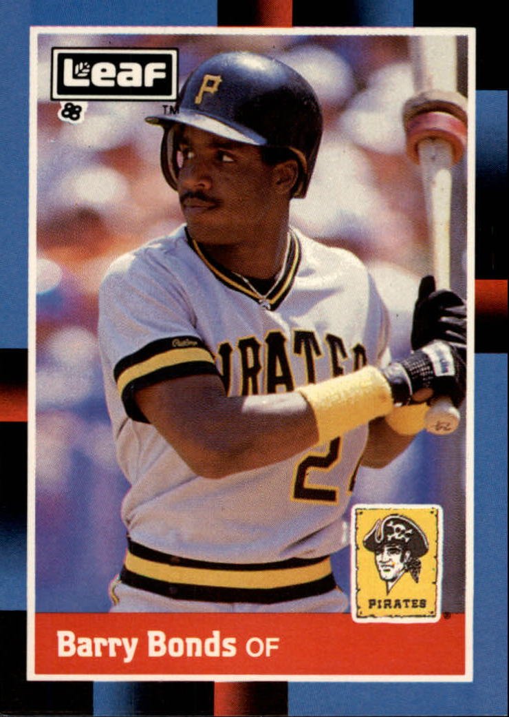 1988 Leaf/Donruss #113 Barry Bonds