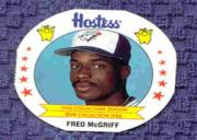 1988 MSA Hostess Discs #15 Fred McGriff