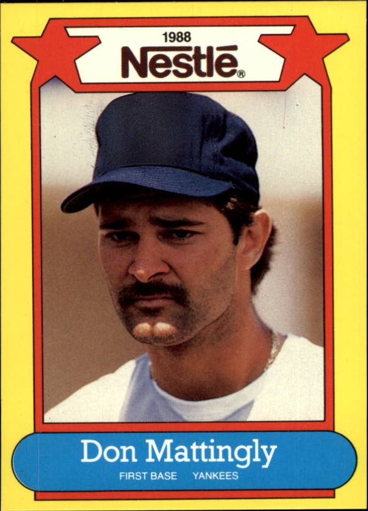 1988 Nestle #15 Don Mattingly