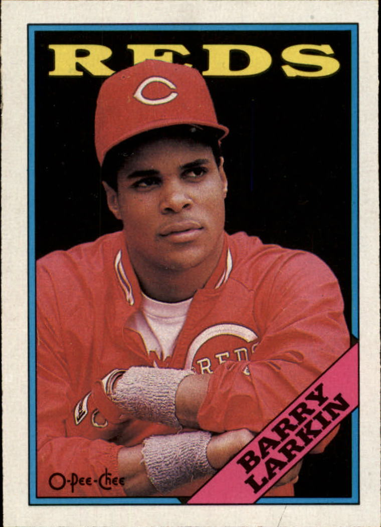 1988 O-Pee-Chee #102 Barry Larkin