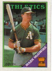 1988 O-Pee-Chee #394 Mark McGwire