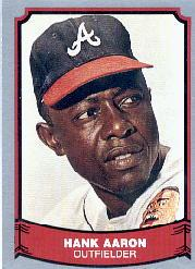 1988 Pacific Legends I #1 Hank Aaron