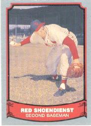 1988 Pacific Legends I #2 Red Schoendienst