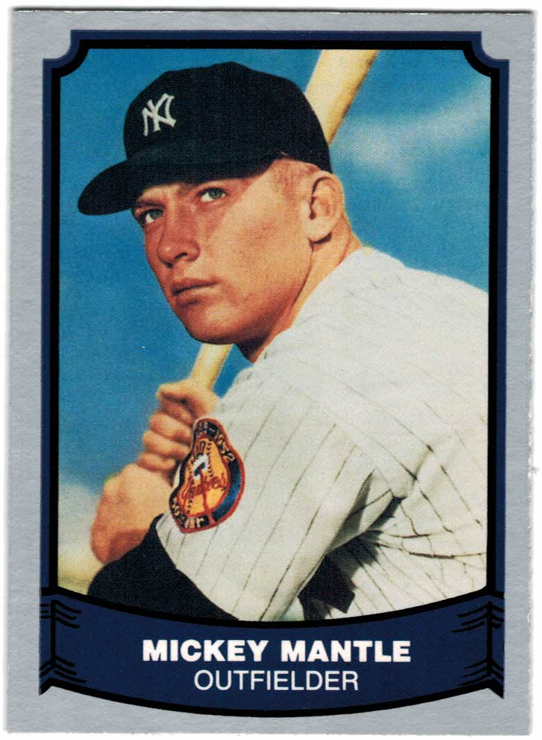 1988 Pacific Legends I #7 Mickey Mantle
