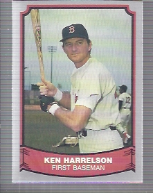 1988 Pacific Legends I #14 Ken Harrelson