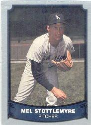 1988 Pacific Legends I #22B Mel Stottlemyre COR