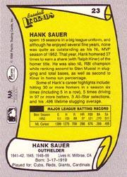 1988 Pacific Legends I #23 Hank Sauer
