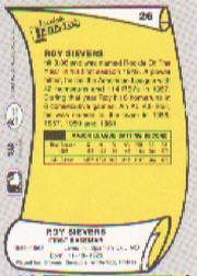 1988 Pacific Legends I #26 Roy Sievers back image