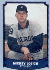 1988 Pacific Legends I #39 Mickey Lolich