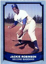 1988 Pacific Legends I #40 Jackie Robinson front image