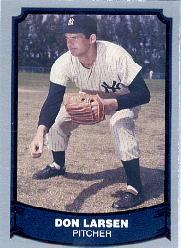 1988 Pacific Legends I #42B Don Larsen COR