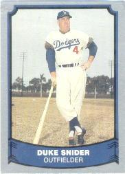 1988 Pacific Legends I #55 Duke Snider