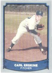1988 Pacific Legends I #75 Carl Erskine front image