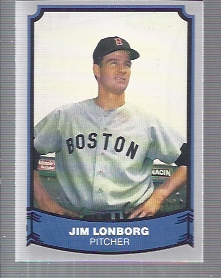 1988 Pacific Legends I #80B Jim Lonborg COR