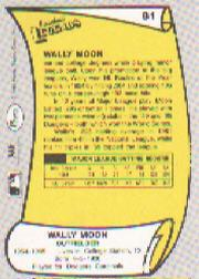1988 Pacific Legends I #81 Wally Moon back image