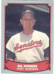 1988 Pacific Legends I #87 Gil Hodges