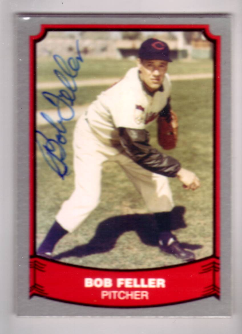 1988 Pacific Legends I #101 Bob Feller front image