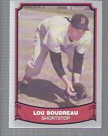 1988 Pacific Legends I #106 Lou Boudreau front image