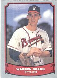 1988 Pacific Legends I #109 Warren Spahn