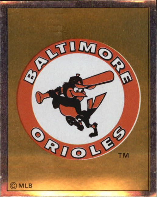 1988 Panini Stickers #2 Orioles Emblem