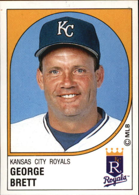 1988 Panini Stickers #104 George Brett