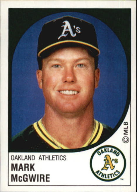 1988 Panini Stickers #167 Mark McGwire