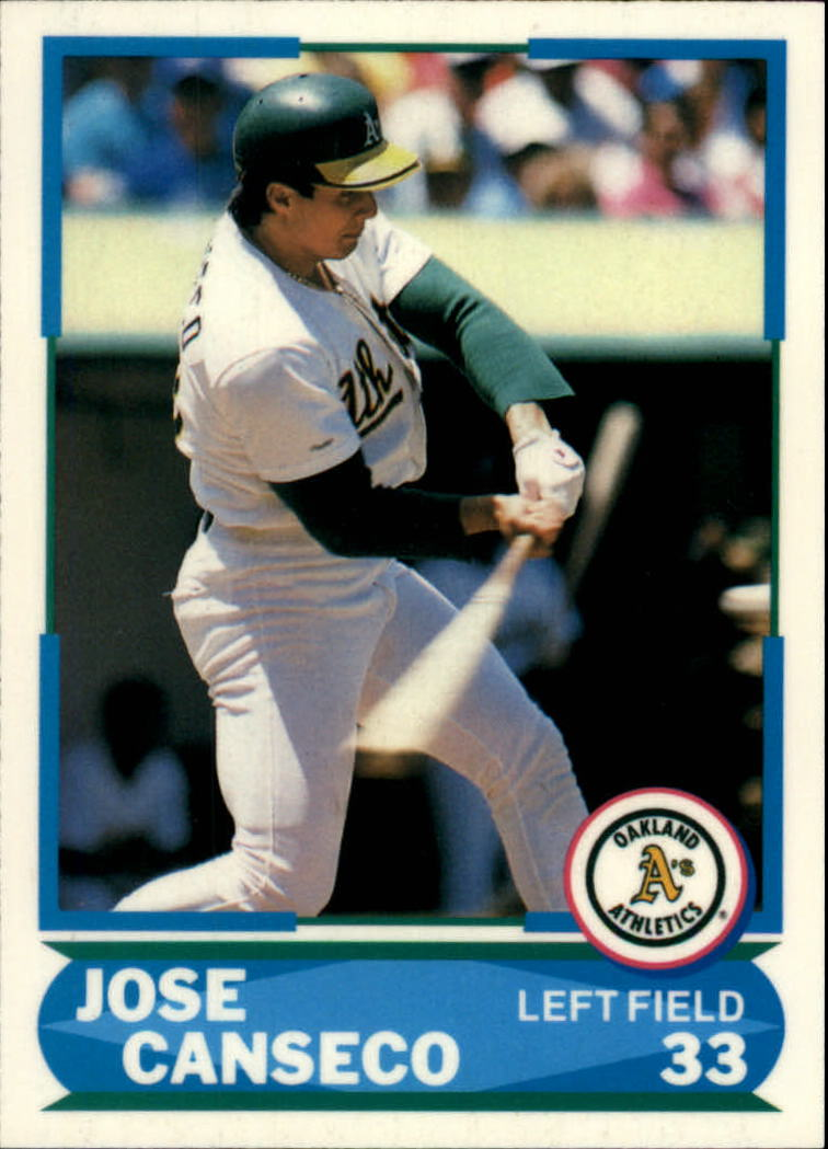 1988 Score Young Superstars I #30 Jose Canseco