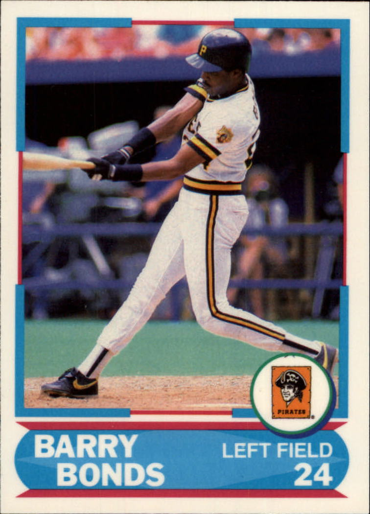 1988 Score Young Superstars II #12 Barry Bonds