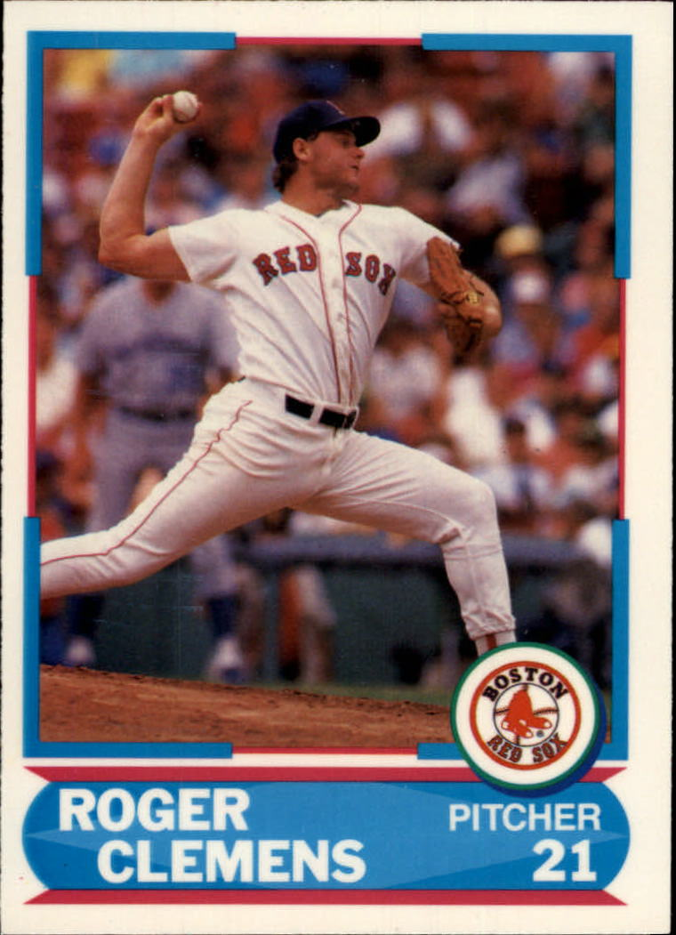 1988 Score Young Superstars II #23 Roger Clemens