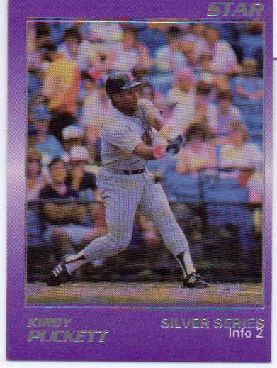 1988 Star Puckett #2 Kirby Puckett/Minor Stats