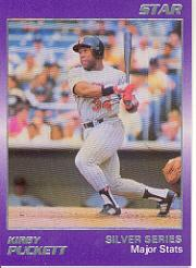 1988 Star Puckett #3 Kirby Puckett/Major Stats