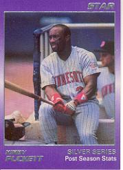 1988 Star Puckett #4 Kirby Puckett/Post Season Stats