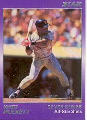 1988 Star Puckett #5 Kirby Puckett/All-Star Stats