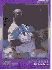 1988 Star Puckett #8 Kirby Puckett/Hit Machine