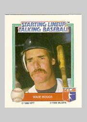 1988 Starting Lineup All-Stars #3 Wade Boggs