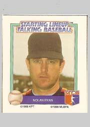 1988 Starting Lineup All-Stars #27 Nolan Ryan