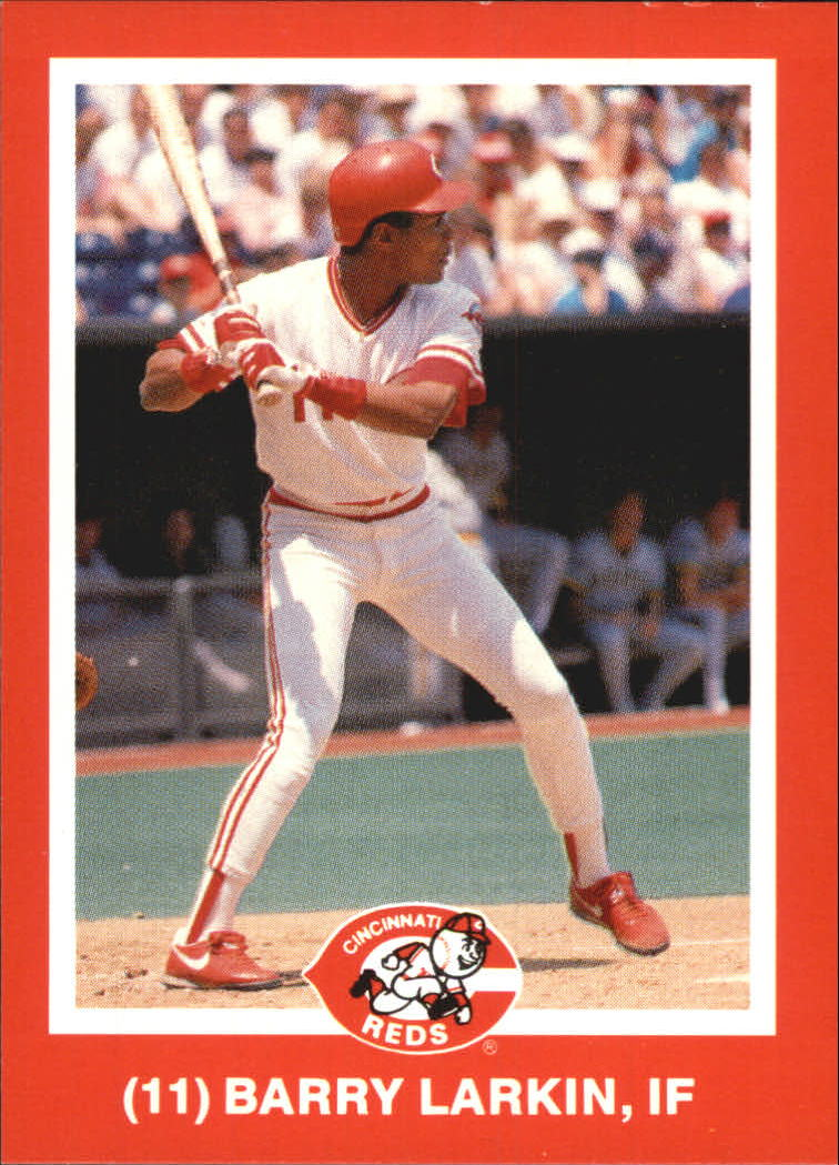 1988 Reds Kahn's #11 Barry Larkin