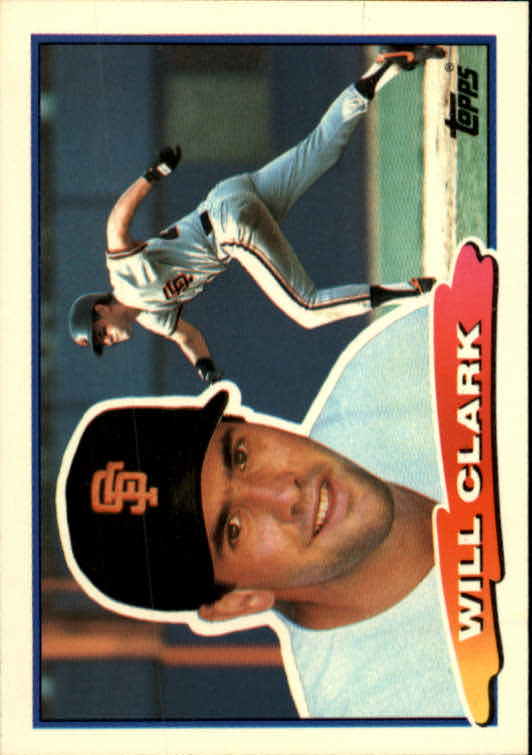 1988 Topps Big #9 Will Clark