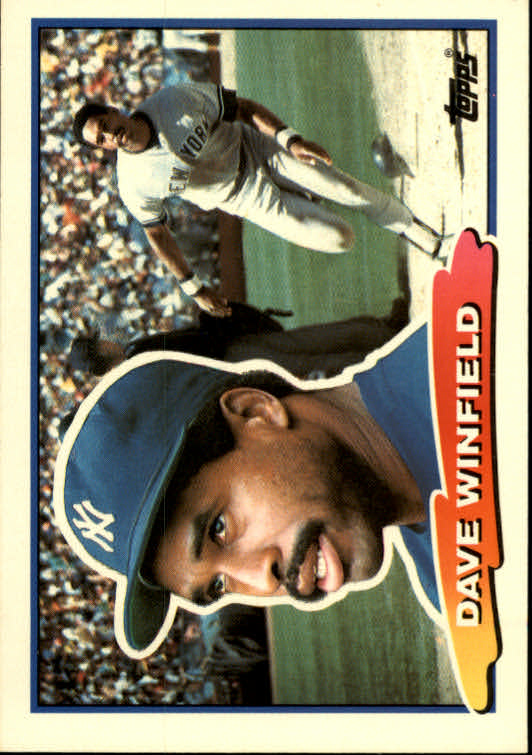 1988 Topps Big #24 Dave Winfield