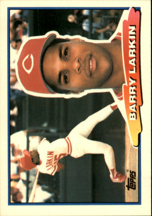 1988 Topps Big #74 Barry Larkin