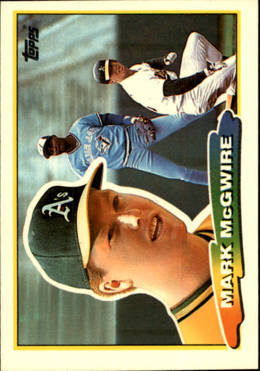 1988 Topps Big #179 Mark McGwire