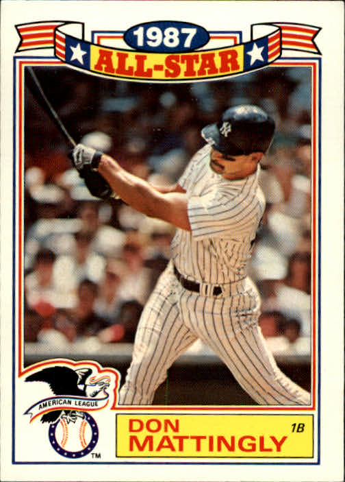 1988 Topps Glossy All-Stars #2 Don Mattingly