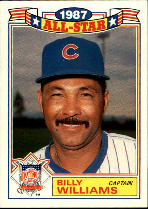 1988 Topps Glossy All-Stars #22 Billy Williams CAPT