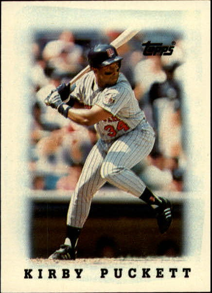 1988 Topps Mini Leaders #23 Kirby Puckett